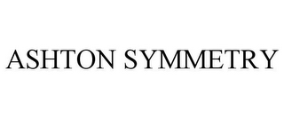 mark for ASHTON SYMMETRY, trademark #85227119