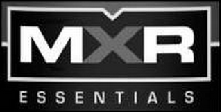 mark for MXR ESSENTIALS, trademark #85227909