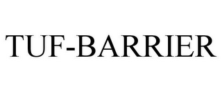 mark for TUF-BARRIER, trademark #85228462