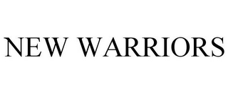 mark for NEW WARRIORS, trademark #85228979