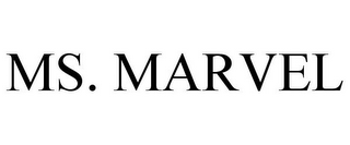mark for MS. MARVEL, trademark #85229135