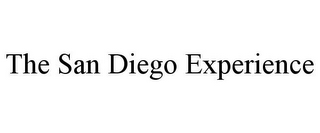 mark for THE SAN DIEGO EXPERIENCE, trademark #85231045