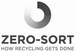 mark for ZERO-SORT HOW RECYCLING GETS DONE, trademark #85231444