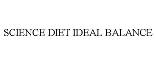 mark for SCIENCE DIET IDEAL BALANCE, trademark #85231478