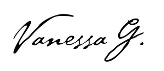 mark for VANESSA G., trademark #85233291