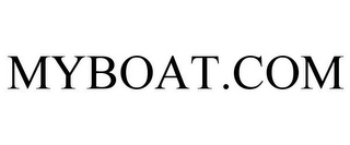 mark for MYBOAT.COM, trademark #85233491