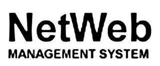 mark for NETWEB MANAGEMENT SYSTEM, trademark #85234097