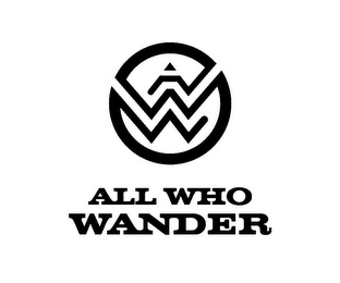mark for AWW ALL WHO WANDER, trademark #85234457
