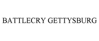 mark for BATTLECRY GETTYSBURG, trademark #85236027