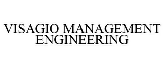 mark for VISAGIO MANAGEMENT ENGINEERING, trademark #85237547