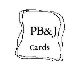 mark for PB & J CARDS, trademark #85238369
