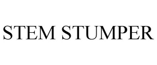 mark for STEM STUMPER, trademark #85238687