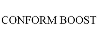 mark for CONFORM BOOST, trademark #85238765