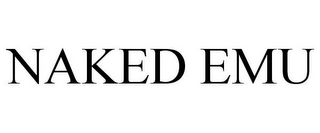mark for NAKED EMU, trademark #85241360