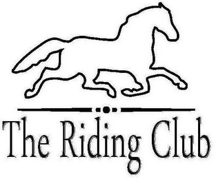 mark for THE RIDING CLUB, trademark #85242319
