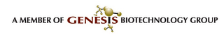 mark for A MEMBER OF GENESIS BIOTECHNOLOGY GROUP, trademark #85243571