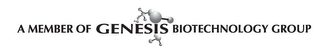 mark for A MEMBER OF GENESIS BIOTECHNOLOGY GROUP, trademark #85243597