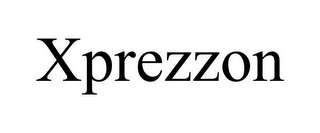 mark for XPREZZON, trademark #85244130
