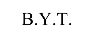 mark for B.Y.T., trademark #85244907