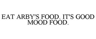 mark for EAT ARBY'S FOOD. IT'S GOOD MOOD FOOD., trademark #85244957