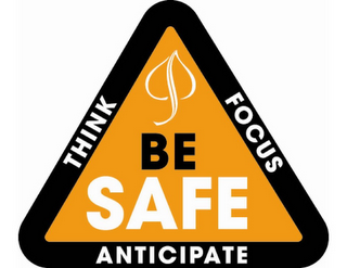 mark for BE SAFE THINK FOCUS ANTICIPATE, trademark #85245001