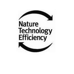 mark for NATURE TECHNOLOGY EFFICIENCY, trademark #85245885