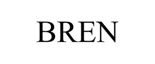 mark for BREN, trademark #85246354