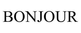 mark for BONJOUR, trademark #85247229