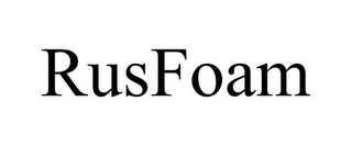 mark for RUSFOAM, trademark #85247745