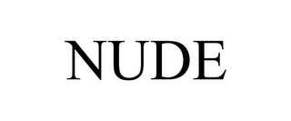 mark for NUDE, trademark #85247754
