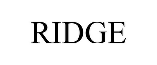 mark for RIDGE, trademark #85247774