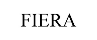 mark for FIERA, trademark #85248435