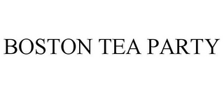 mark for BOSTON TEA PARTY, trademark #85248543