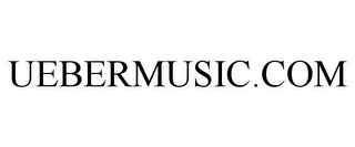 mark for UEBERMUSIC.COM, trademark #85248975
