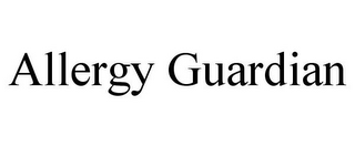 mark for ALLERGY GUARDIAN, trademark #85249148