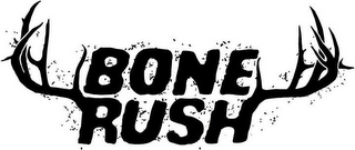 mark for BONE RUSH, trademark #85250556