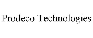 mark for PRODECO TECHNOLOGIES, trademark #85250946