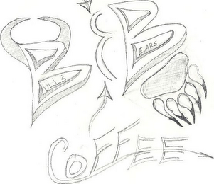 mark for BULLS BEARS COFFEE, trademark #85252936
