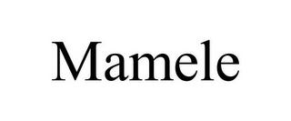 mark for MAMELE, trademark #85253284