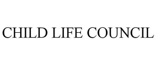mark for CHILD LIFE COUNCIL, trademark #85253523
