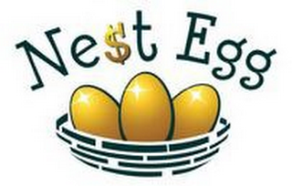 mark for NE$T EGG, trademark #85254030