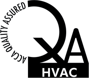 mark for ACCA QUALITY ASSURED QA HVAC, trademark #85255368