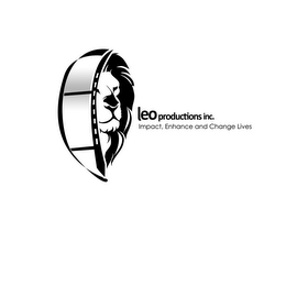 mark for LEO PRODUCTIONS INC. IMPACT, ENHANCE, AND CHANGE LIVES, trademark #85255861