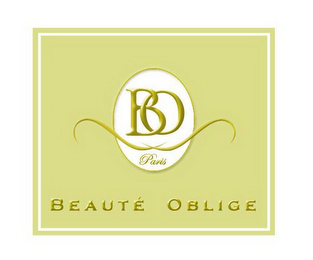 mark for BO PARIS BEAUTE OBLIGE, trademark #85256160
