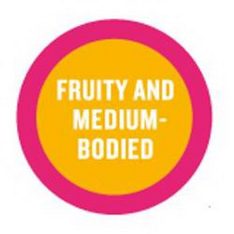 mark for FRUITY AND MEDIUM-BODIED, trademark #85257027