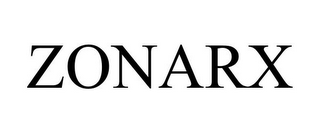mark for ZONARX, trademark #85257418