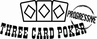mark for THREE CARD POKER PROGRESSIVE, trademark #85257795