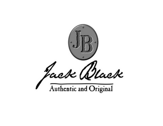 mark for JB JACK BLACK AUTHENTIC AND ORIGINAL, trademark #85258224