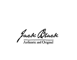 mark for JACK BLACK AUTHENTIC AND ORIGINAL, trademark #85259720