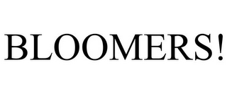 mark for BLOOMERS!, trademark #85260770